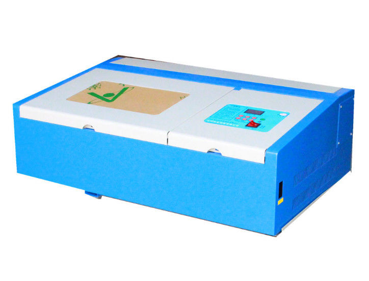 3020 CNC 40w CO2 Mini Laser Engraving Machine , Tabletop Laser Engraver