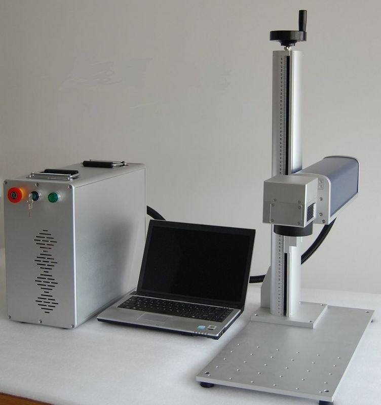 Portable Fiber Laser Marking Machine For Hardware Tools / Jewelry Rings