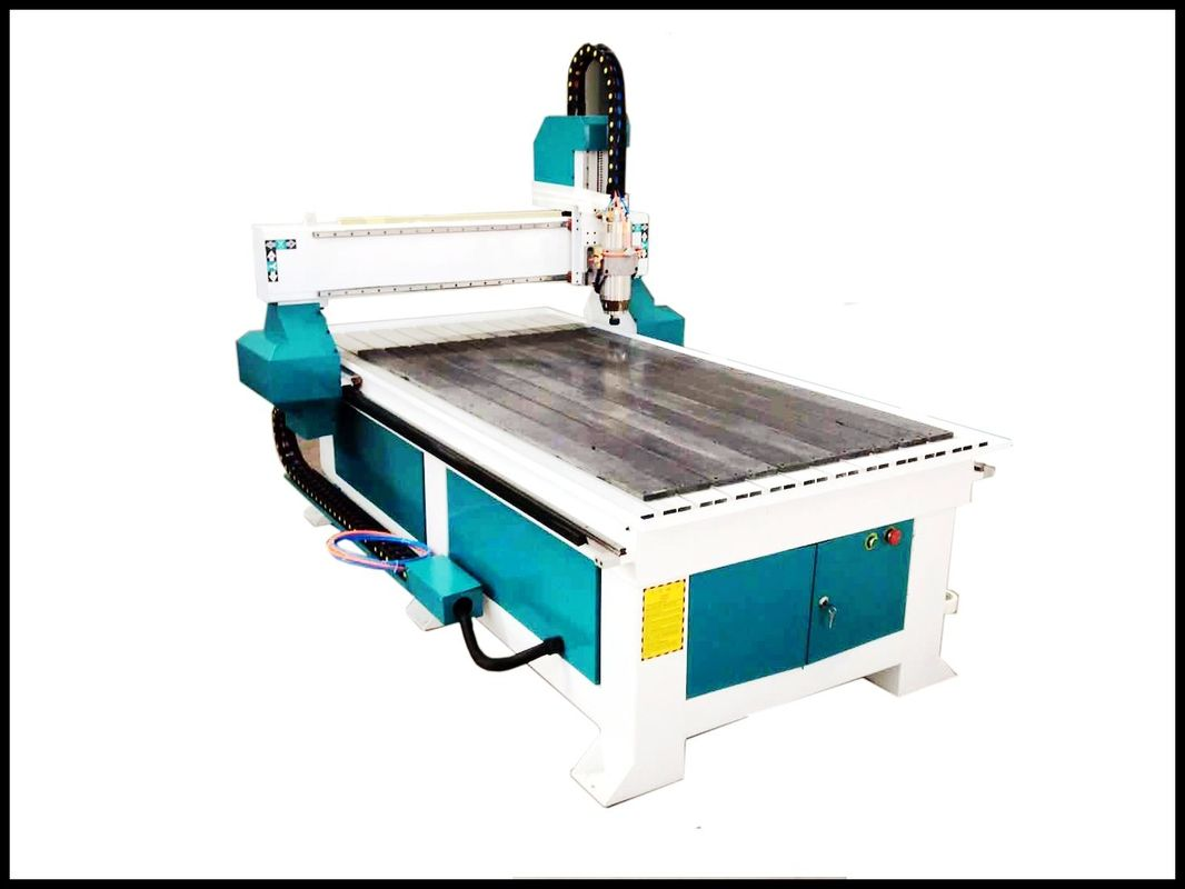 Cnc Router Wood Cutting Machine With DSP Handle , Cnc Woodworking Machinery