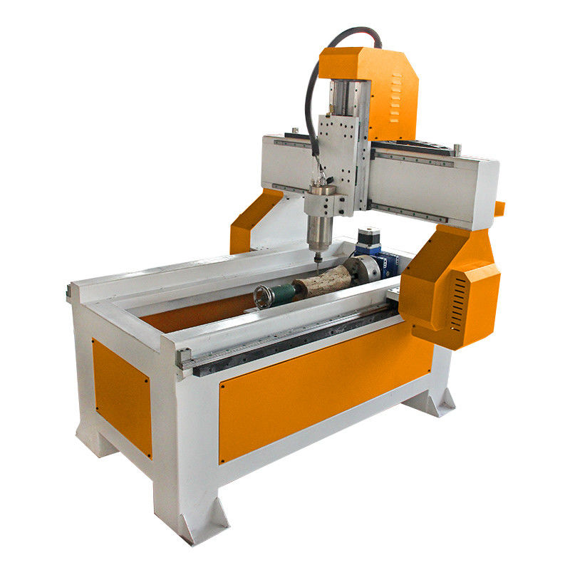 6090 4 Axis Desktop CNC Router Machine For Advertising , Mach3 Control Cnc Milling Machine